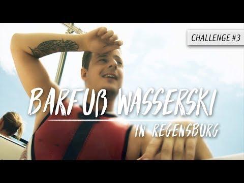Meine Barfuß-Wasserski-Challenge | Der Hardi | Unser abgefahrener Sommer – Challenge #3