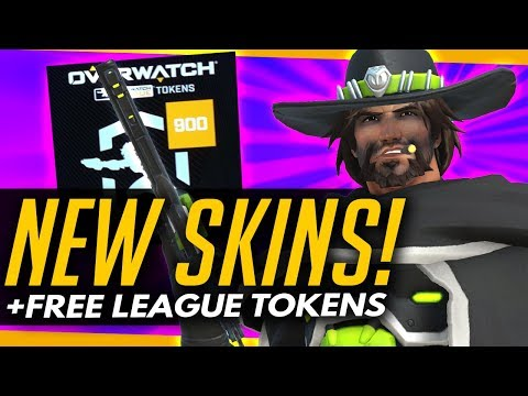 Overwatch | NEW SKINS + LEAGUE TOKENS LIVE NOW! [OWL UPDATE]