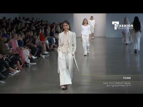 TOME New York Fashion Week Spring/Summer 2019