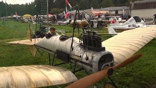 """The """"SPIDER"""" Fokker M1 the first Airplane from Anthony Fokker 1911 Scale RC Oldtimer Model"""