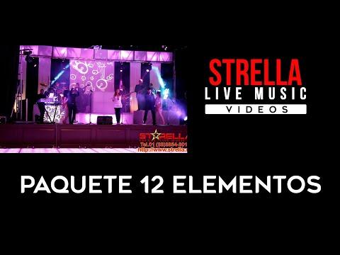 Strella // Mix 2014 // Musica en Vivo Guadalajara