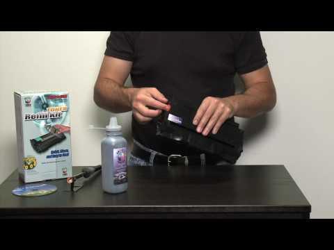 Toner refill kit for Samsung toner cartridges - how to refill Samsung using toner refills