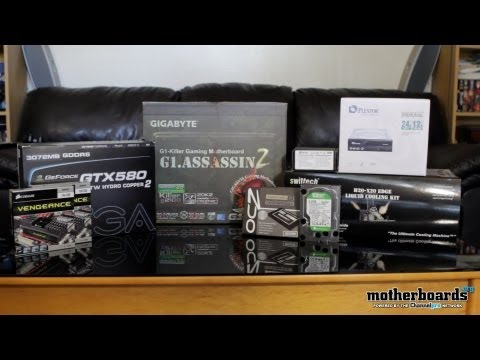 Building the Beast Part I: Water Cooled EVGA GTX 580 3GB, Intel i7-3960X, 32GB RAM & OCZ SSD RAID