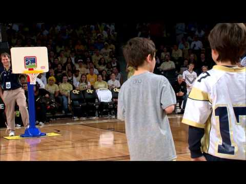 Georgia Tech Halftime Slam Dunk Contest video