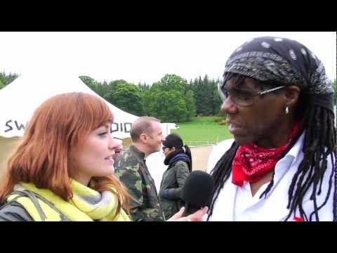 Nile Rodgers interview at RockNess 2012