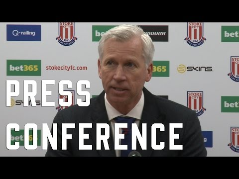 Alan Pardew post Stoke Press Conference