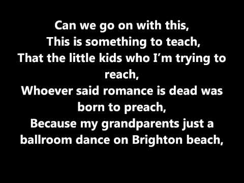 Loveable Rogues-lovesick (lyrics) video