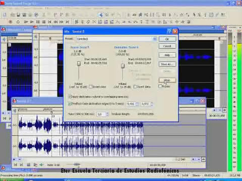 Tutorial Nro 6  Mezclando Con Sound Forge
