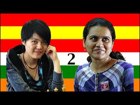 2011 Women's World Chess Championship: Hou Yifan vs. Humpy Koneru - Game 2