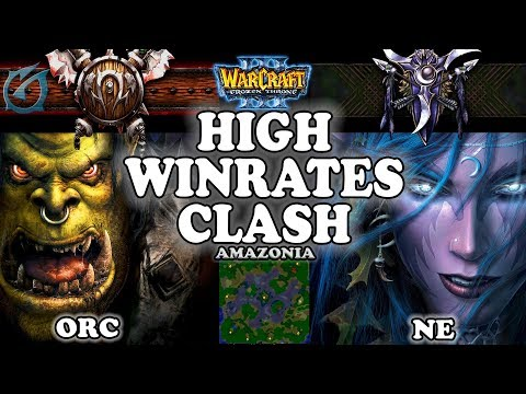 Grubby | Warcraft 3 TFT | 1.29 | ORC v NE on Amazonia - High Winrates Clash