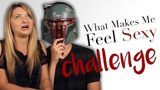 JELLO AND BOBA FETT?!?! | What Makes Me Feel Sexy Challenge