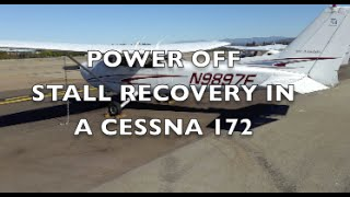 Power Off Stall Recovery - Cessna 172