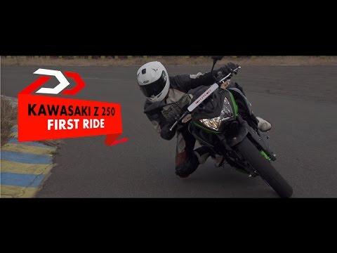 First Ride l Kawasaki Z250 l PowerDrift