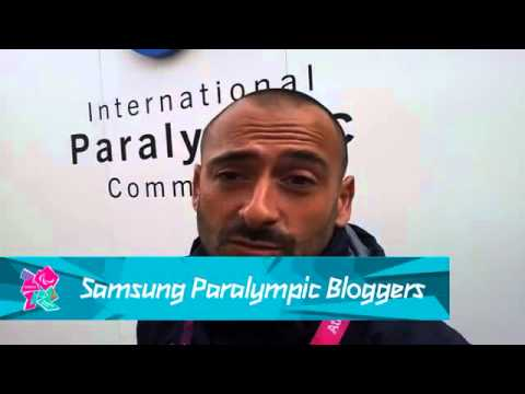 Stephane Houdet - My wheelchair tennis soulmate Michael Jeremiasz, Paralympics 2012