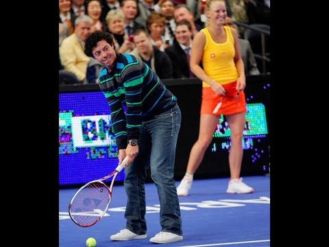 Rory McIlroy Wins Point Against Maria Sharapova