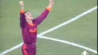 Amarcord Roma - Milan 2-0 Goal Claudio Caniggia