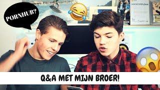 HEBBEN WIJ EEN VRIENDIN?! Q&A MET BROER | Vincent Visser