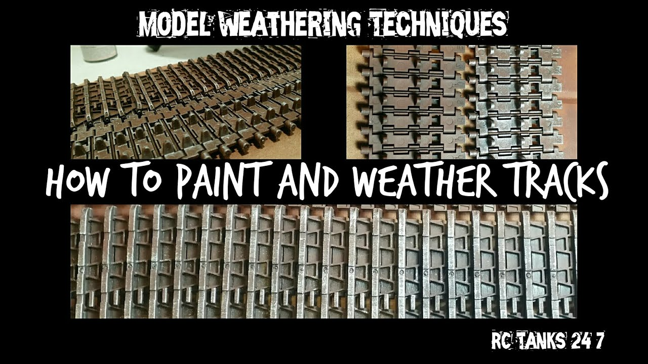 Plastic Models Paint How to Paint And Weather Model