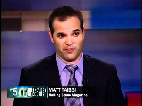 Matt Taibbi on Judge Rakoff's Rejection of Citigroup Settlement