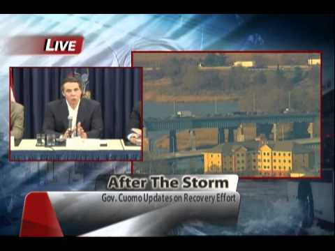 After The Storm: Nassau County Executive Ed Mangano and Governor Andrew Cuomo