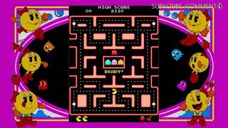 Mrs PacMan Tutorial level 2  X-Box 360  #PacMan #MrsPacMan