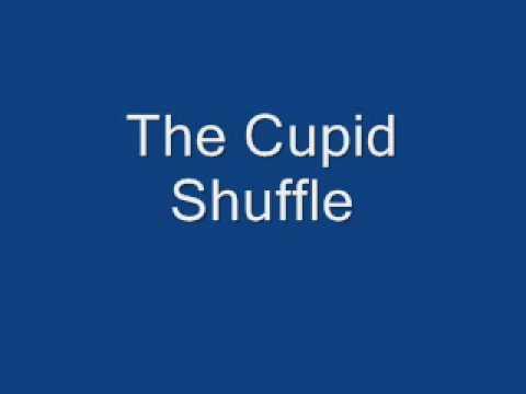 The Cupid Shuffle w/ Lyrics