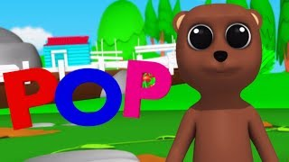 Pop Goes The Weasel | Nursery Rhymes For Kids And Children's | Baby Rhyme