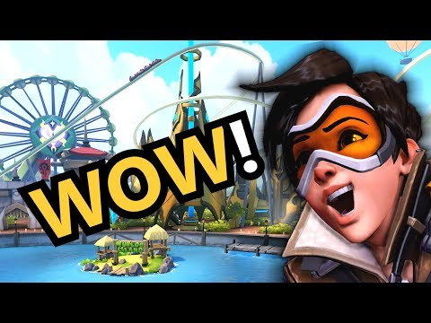 A Day At Blizzard World (Overwatch)