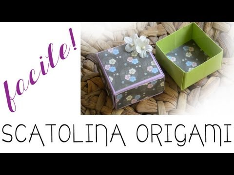 Come fare una scatolina origami