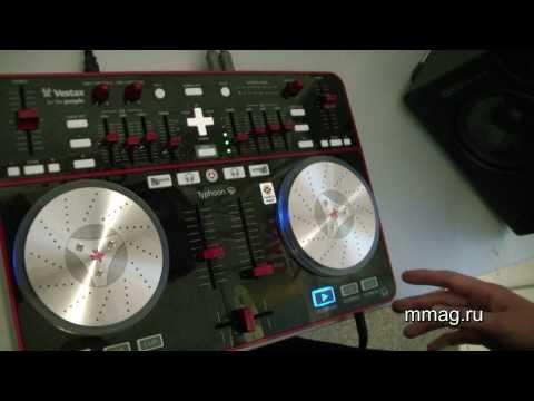 mmag.ru: Vestax Typhoon DJ controller video review