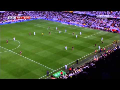 Gareth Bale's incredible goal | Copa del Rey 2014 HD (UK Sky Sports commentator)
