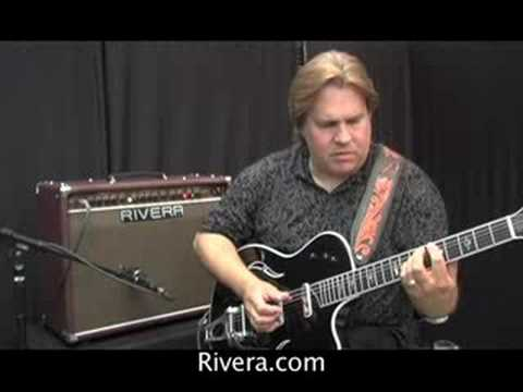 Rivera-Doyle Dykes plays T5 w/bigsby with Sedona 55