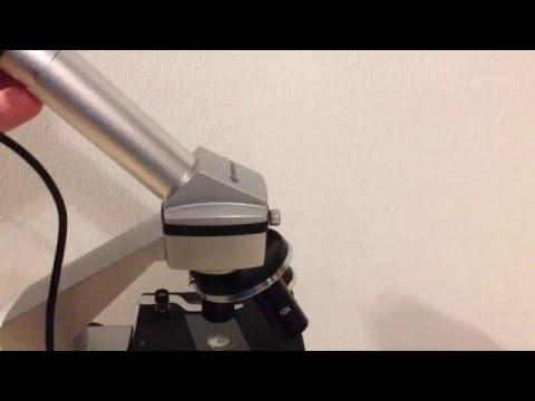 Anleitung: Bresser Mikroskop - USB Kamera installieren