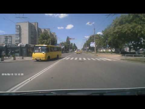 аварія маршрутки і буса - Луцьк 19.06.2012