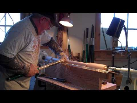 JoHannes Michelsen--Hand Turning Balusters