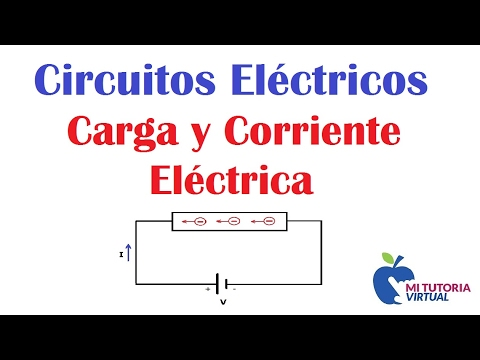 Carga y Corriente Eléctrica Charge and Electric Current  Video 3