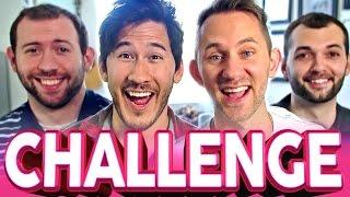 FINISH MY SENTENCE CHALLENGE   Markiplier, Wade, Matthias & Jesse