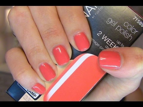 Easy At Home Gel Manicure - YouTube