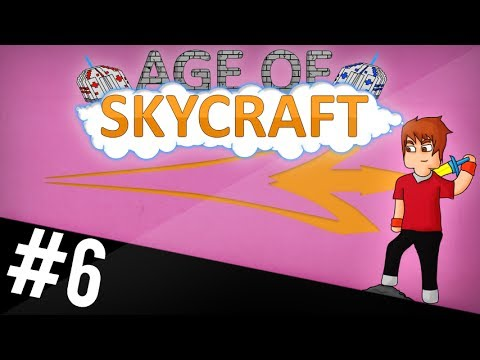 PLANETA, BLOCOS DE DIAMANTE E NETHER! \o\ - AGE OF SKYCRAFT #6 [MINECRAFT]