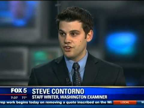 Washington Examiner's Steve Contorno on Washington, DC's FOX 5 News 7-22-2013