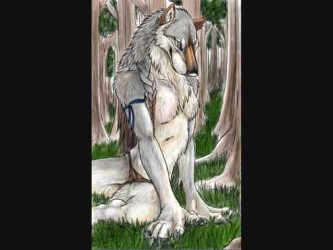 Furry Wolf Anthro Wolf Anthro Furry Green