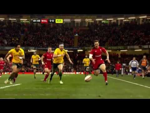 Australia vs Wales End of Year Tour 2013 HD