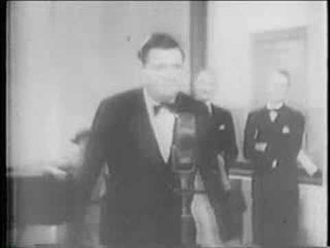 Babe Ruth Sings Video