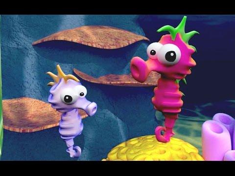 Tres Pececitos - Canciones Infantiles Seguinos en Facebook � http://on.fb.me/17iqRf3 Seguinos en Twitter � http://bit.ly/1bl5Z7F.