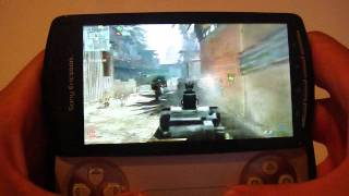 Modern Warfare 2 on the Xperia Play