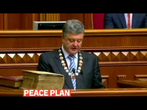 mitv - Petro Poroshenko has been sworn in as president of Ukraine