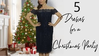 Dresses for Christmas Party and New Year |  Fashion for Women over 40 2018