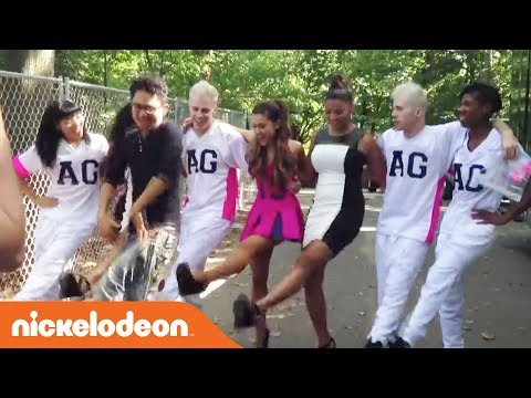 Ariana Grande's Can Can Dance! | Nick