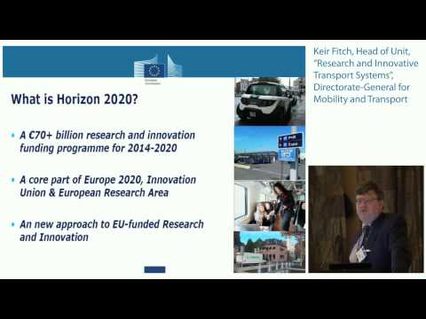 Keir Fitch, DG MOVE, EC: Regional connections and impacts on economic growth