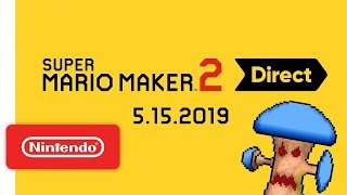 Reacting to the Super Mario Maker 2 Direct